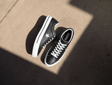 Converse One Star Perforated Leather
