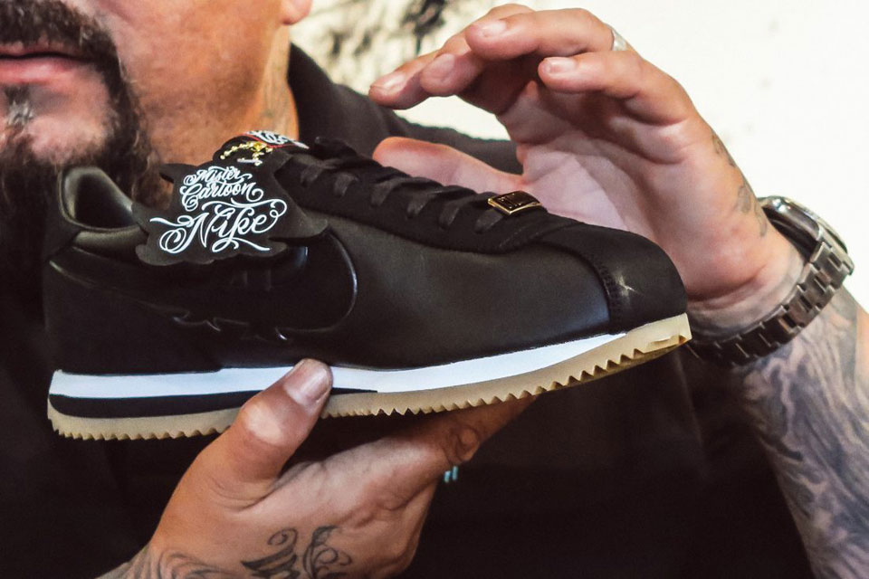 wholesale dealer fe725 dfca0 First Look at Mister Cartoon x Nike Cortez Collabo
