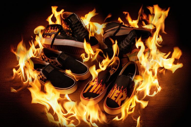 First Look at the Thrasher Magazine x Vans Collabo
