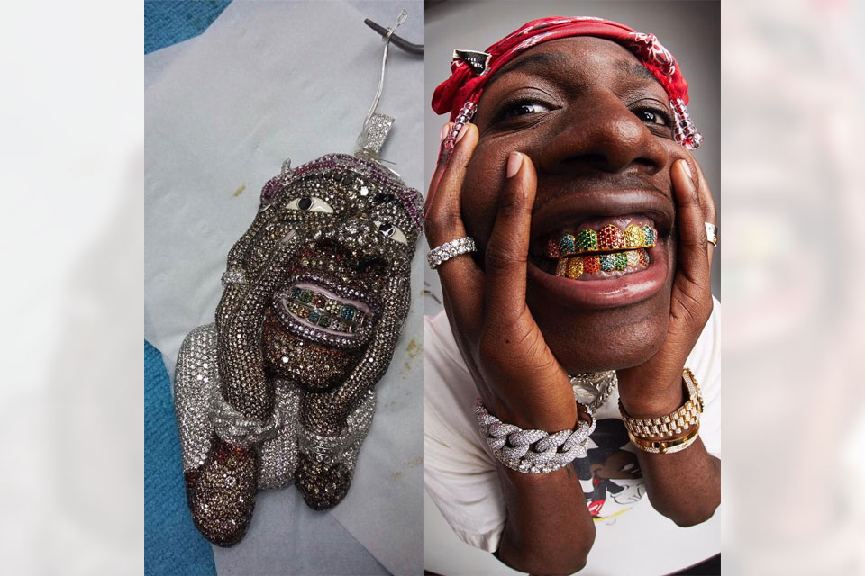 Lil Yachty Gets 150K Chain Of Himself Made