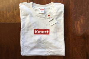 Blank Supreme Tees From Kmart