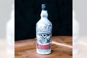 Mister Cartoon x Tequila Cazadores Dia de los Muertos Bottle