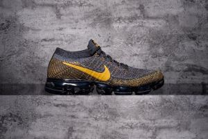 Nike Air VaporMax Yellow Grey Black