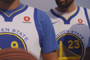 Warriors Rakuten jersey deal