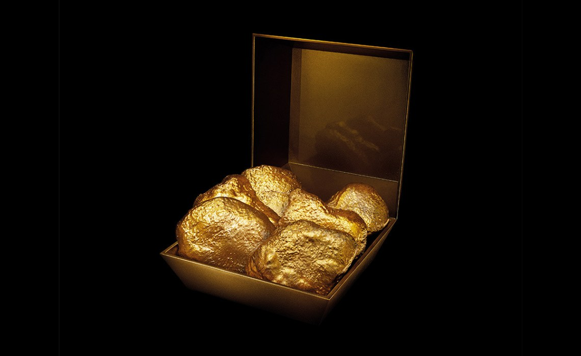 McDonald's 24-Karat Chicken McNuggets