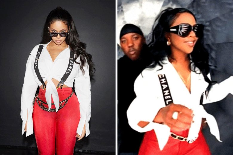 Beyonce Recreates Lil Kim Looks For Halloween