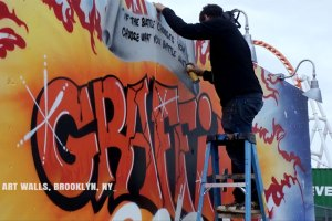 The Rise Of Graffiti Writing - From New York to Europe Trailer