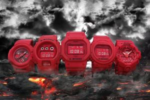 G-Shock Red Out collection