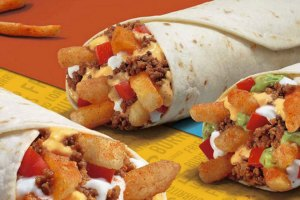 Taco Bell Loaded Fries Burrito
