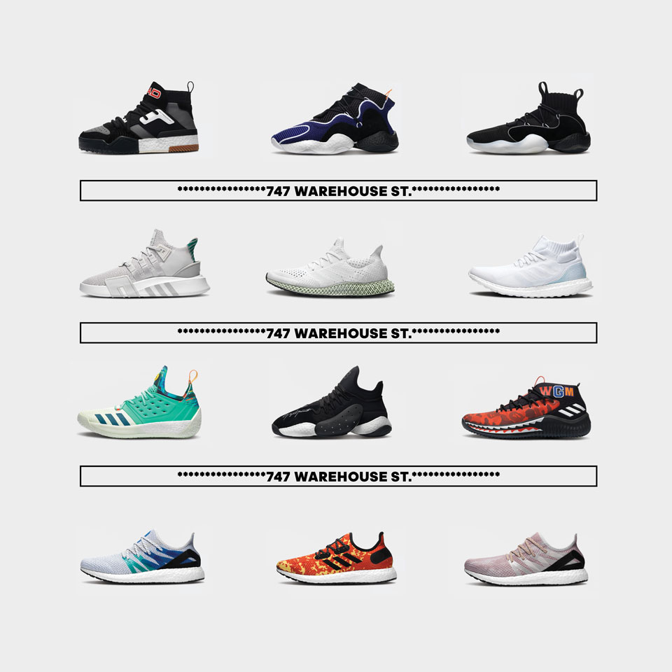 adidas 747 Warehouse St. Exclusive Product Drops