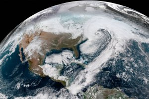 bomb cyclone from space