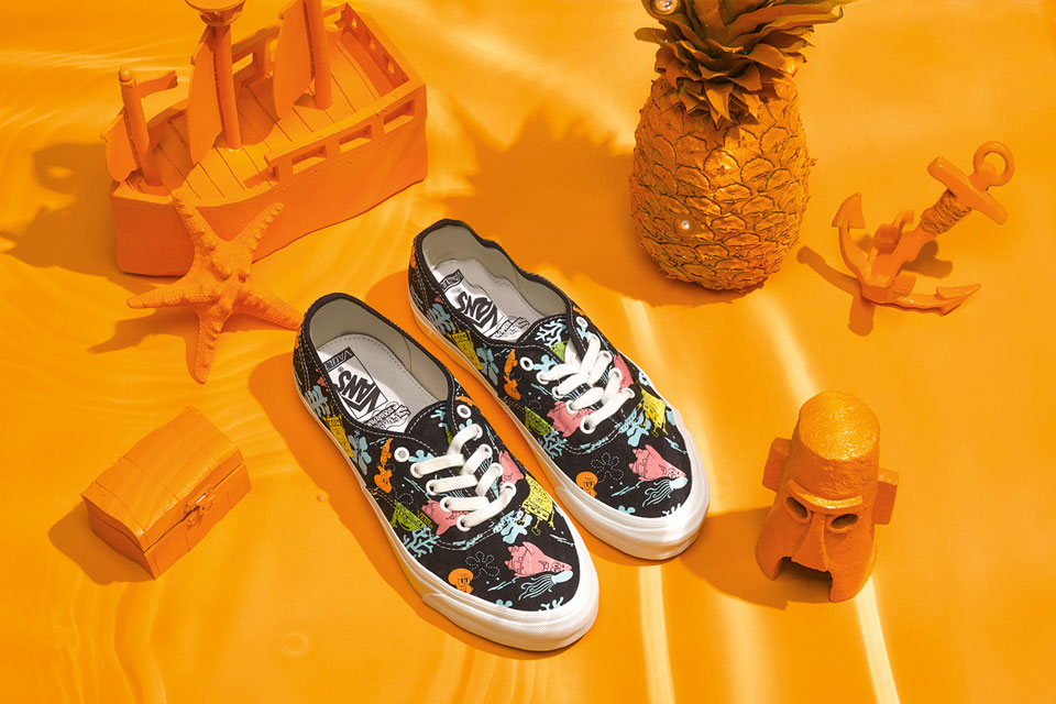 3d5a3f4f792161 First Look at the Vault by Vans x SpongeBob SquarePants Collabo