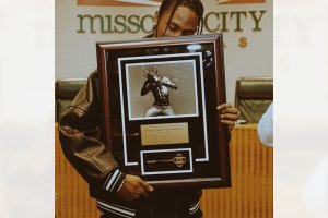 Travis Scott Presented With Key to Missouri City