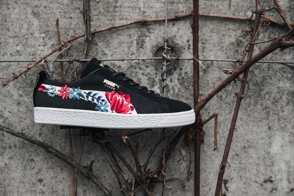 new style 80822 d6772 PUMA Unveils the Suede 50 Embellished Pack