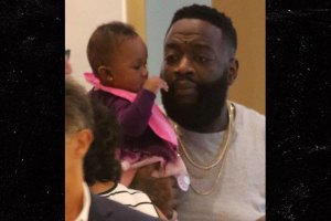 Rick Ross Seen Out & About After Hospitalization