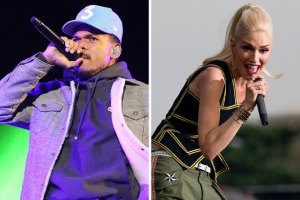 Chance the Rapper and Gwen Stefani