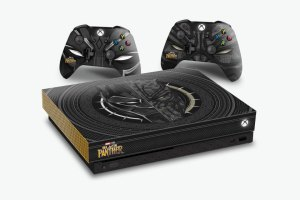 Marvel x Xbox One Black Panther console