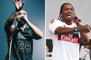 Drake and Pusha T