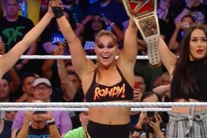 Ronda Rousey WWE RAW Women's Champion