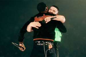 Drake and Meek Mill unite in Boston