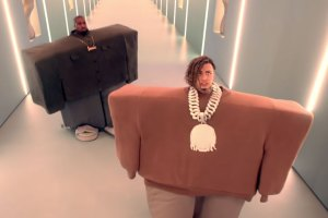 Kanye West Lil Pump video