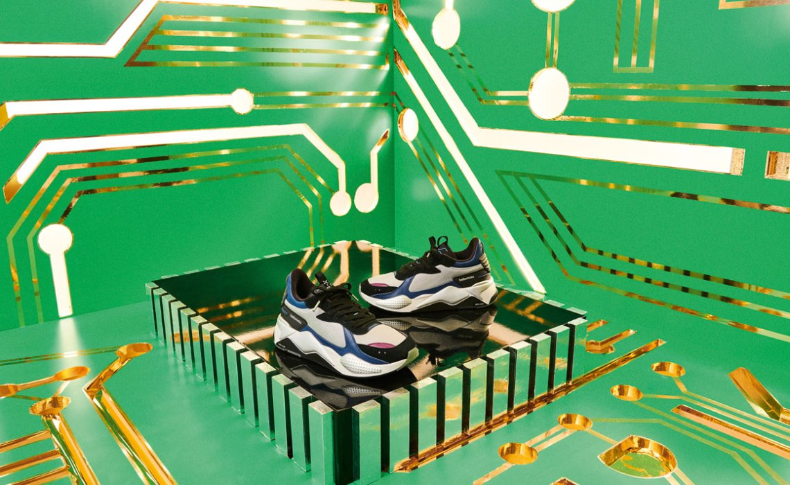 102d51cef7a PUMA Links With Motorola For Exclusive RS-X Tech Sneaker