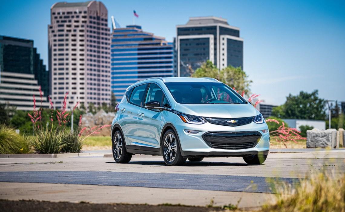 Chevrolet Bolt EV in Sacremento, California