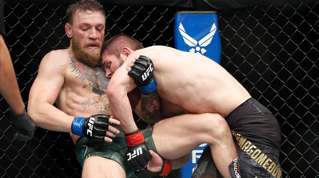 Conor McGregor vs Khabib Nurmagomedov