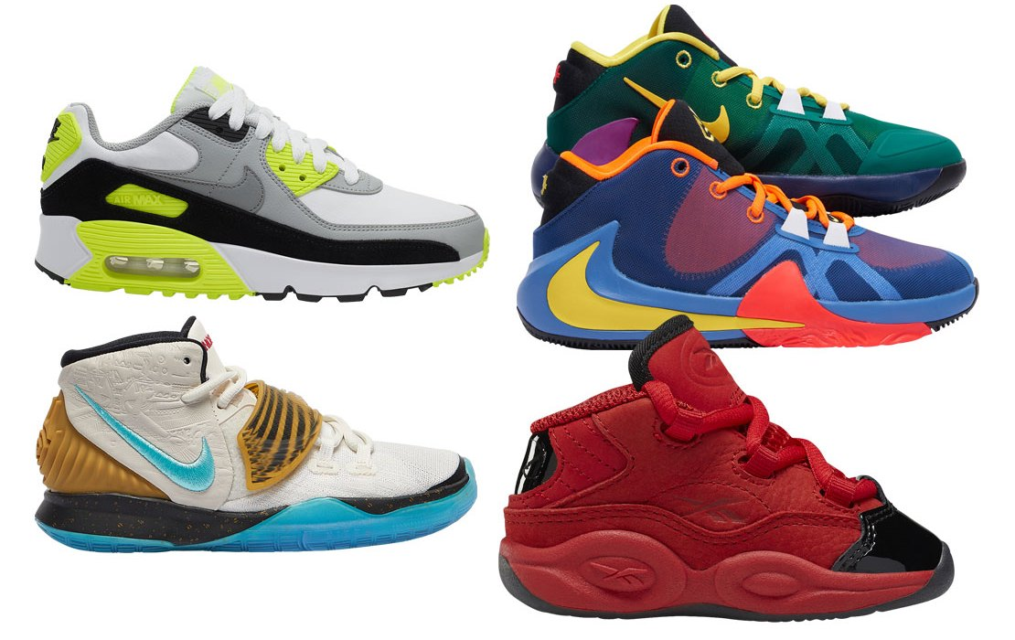 Kid's Foot Locker Heat Check: Top 5 Picks (Jan. 2020)