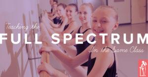 Teaching Full Spectrum
