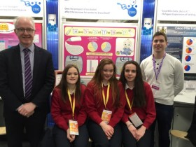 "BT Young Scientists ""Highly commended"""