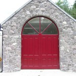 Arched Garage Door  106