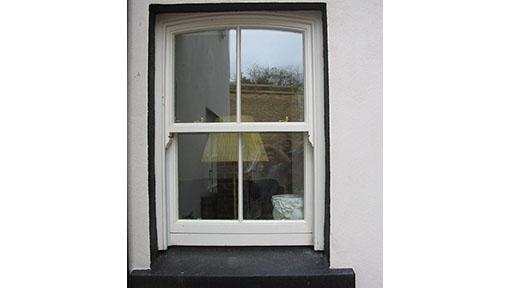 Arched  Sash window 102