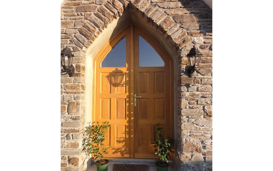Gothic Double Door 115
