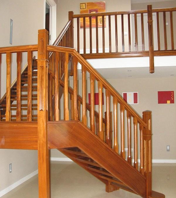 Teak Stairs 138
