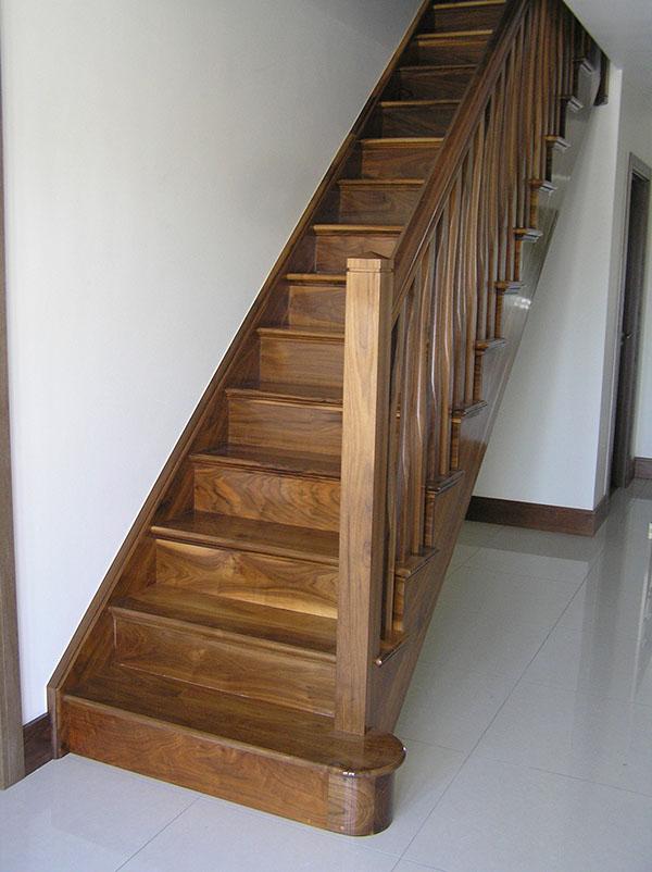 Walnut Stairs 111