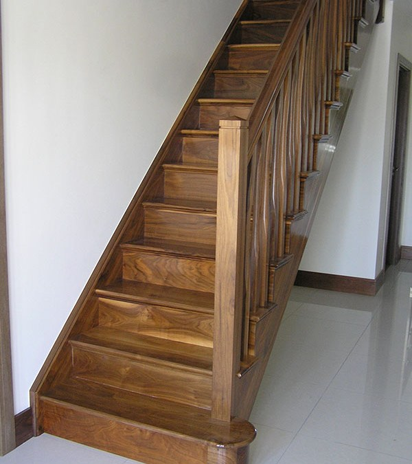 Walnut Stairs 111