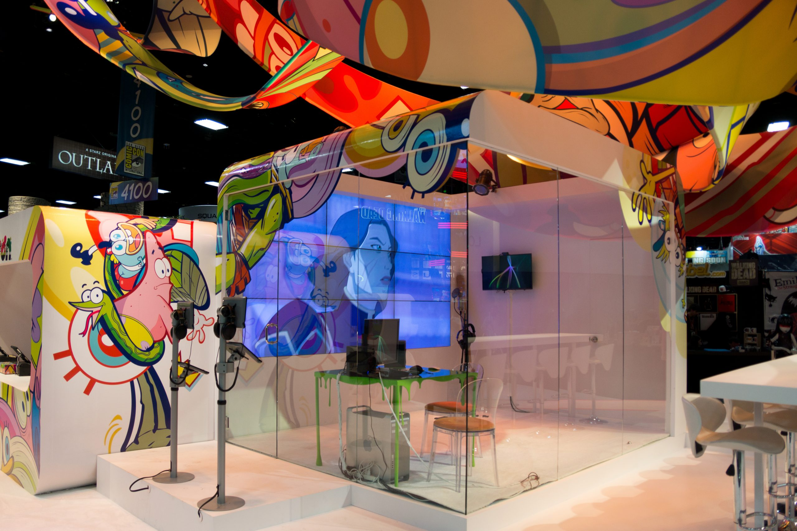 Nickelodeon voice over booth