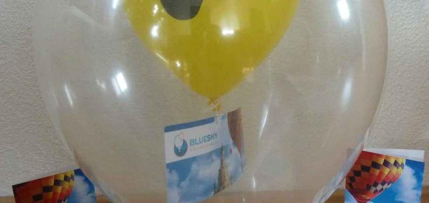Gutschein im Luftballon
