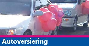 Ballonnendecoratie autoversiering
