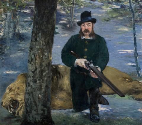 Édouard_Manet_-_Pertuiset,_le_chasseur_de_lions