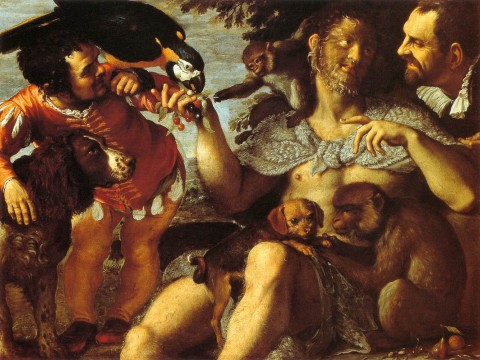 Agostino_Carracci_-_Hairy_Harry,_Mad_Peter_and_Tiny_Amon_-_WGA4398