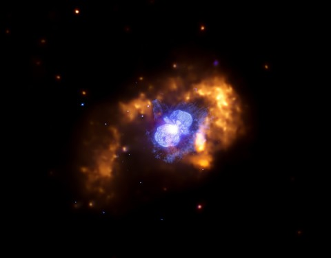 A star between 100 and 150 more massive than the Sun, about 7,500 light years from Earth.
