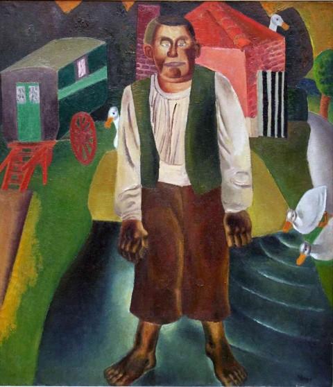 MSKG - De idioot bij de vijver - Frits Van den Berghe (1926)