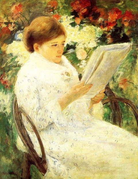 Mary_Cassatt_Woman_Reading_in_a_Garden