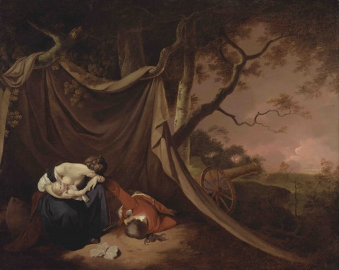 Joseph_Wright_of_Derby_-_The_Dead_Soldier_-_Google_Art_Project