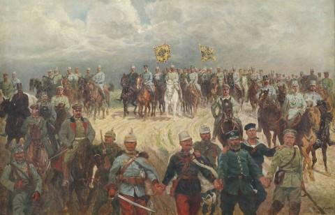 Ludwig_Koch_Die_verbündeten_Monarchen_1915