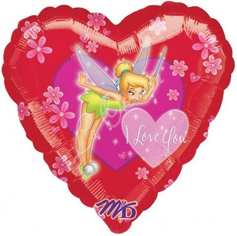 Μπαλόνι Tinkerbell καρδιά 'I Love You'