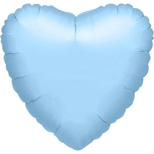"""Μπαλόνι καρδια Γαλάζια 32"""""""