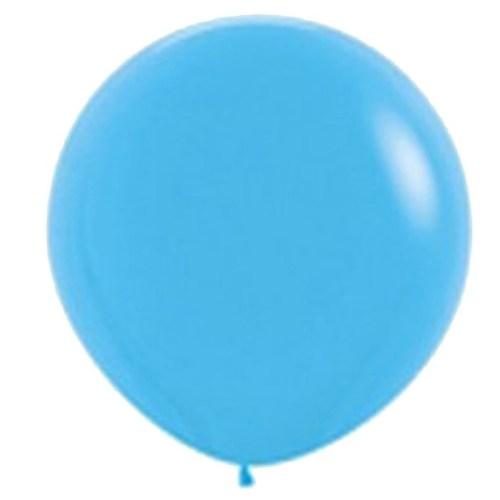 90cm - 36'' Γαλάζιο μεγάλο μπαλόνι